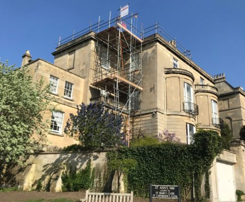 Bath City Scaffolding - Job 1